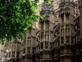 Westminster Abbey by gilraenaarefu