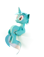 weird Lyra finished photo by Kna