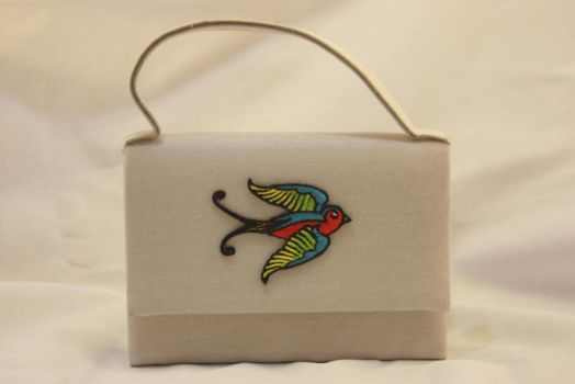 Bird Patch Purse by One-Eyed-Kitty