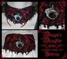 Dragon's Daughter choker by redLillith