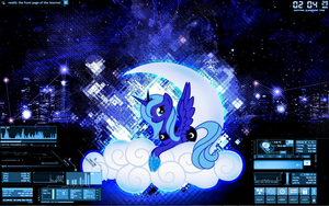 MLP: Luna SciFi by Xris777