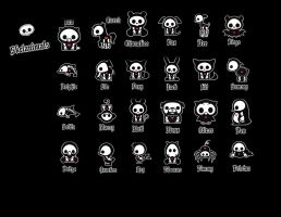 Skelanimals by xXxDiamondxXx