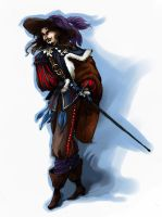 Musketeer by Ewela1130