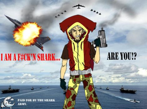 Shark Army Promo Piece by cee-gee