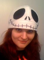 Jack Skellington Felt Hat by Red-Flare