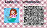 ACNL - Museum Sign 'Mermaid Furniture' by Rickulein