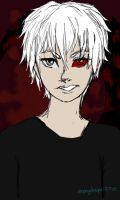 Kaneki1215 by StripeySharpie
