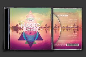Magic Summer CD Cover Artwork by styleWish