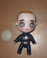 Captain America chibi artdoll WIP by LilliamSlasher