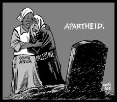 Apartheid: then and now by Latuff2