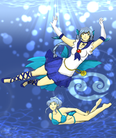 Sailor Cancer by Blue-and-Dog