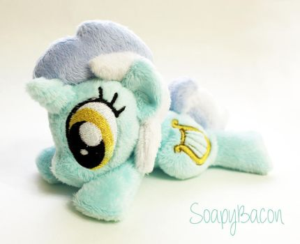 Lyra Heartstrings Poseable Beanie Plush by TheHarley