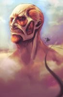 Colossal Titan by Muzuen