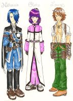 Etoh, Lucas and Nate by CelebrenIthil