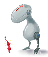 Mouser vs Pikmin by ozwalled