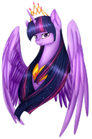 Princess Twilight Sparkle by midfire