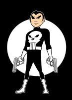 punisher color by AlanSchell