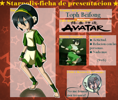 SP.:Toph Beifong:. by Cintia-the-Cat