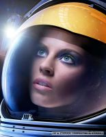 Space Chick 1 by MisterToretto