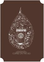 Starbucks Design Poster no.2 by Crumies