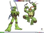 Turtles Desktop by mojo-jojo27