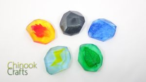 Pokemon Evolution Stones Revised by ChinookCrafts
