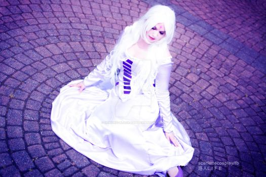 Lady Amalthea Waiting by demonic-black-cat