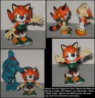 Custom Commission: Marine the Raccoon by Wakeangel2001