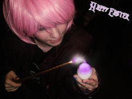 Happy Easter- Tonks :2011: by CautiousInsanity