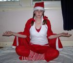 Christmas - Sitting Poses 5 by Gracies-Stock