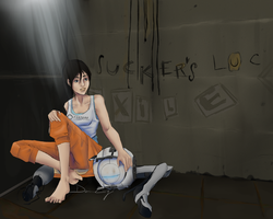 Portal 2: Rest in The Den by MirageFlames