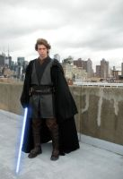 Anakin the bridge to Coruscant by Akaius
