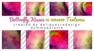 Butterfly Kisses: 15 Icon Textures by deliquescedesign