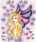 Butterfly fairy by Karentownsend