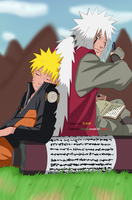 Sensei and Student ~ Naruto Shippuden by TheMuseumOfJeanette