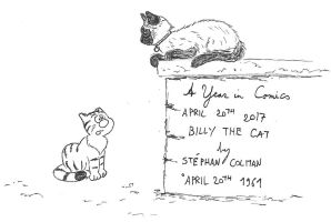 April 20th - Billy the Cat by kanyiko