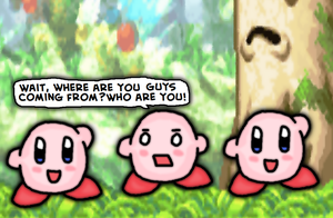 Nintendo logic-kirby victory d-WHO ARE YOU PEOPLE! by thegamingdrawer