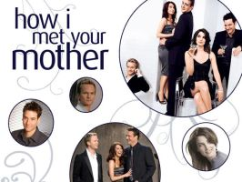 HIMYM Wallpaper by lockedinabathroom