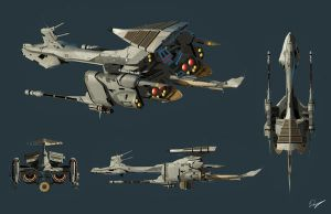 Space Cruiser by EastCoastCanuck