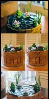 Barrel Cake by megilwenn