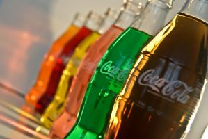 True Colours of Coke 1 by Seredine