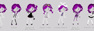 Anita Boogie Outfits by kayinthesky