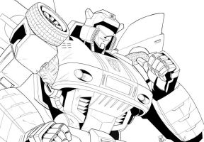 Autobot Jazz by beamer