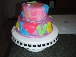 Hippie Cake View 2 by SarahMame