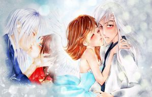 Intimacy.Angels Kiss by Hoshino-Arashi