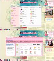 Tema IconPackager Cartoon-Pink by leyfzalley