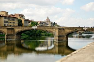 Bridges on the Arno - Florence by wildplaces