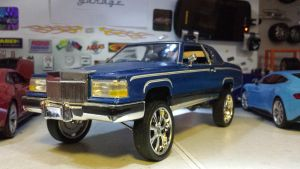 DONK CUSTOM Cadillac  by themodelist