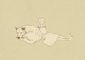 Canis lupus lucy by like-textas