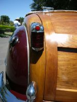 1946 Chrysler Woody Convertible Taillight detail by RoadTripDog
